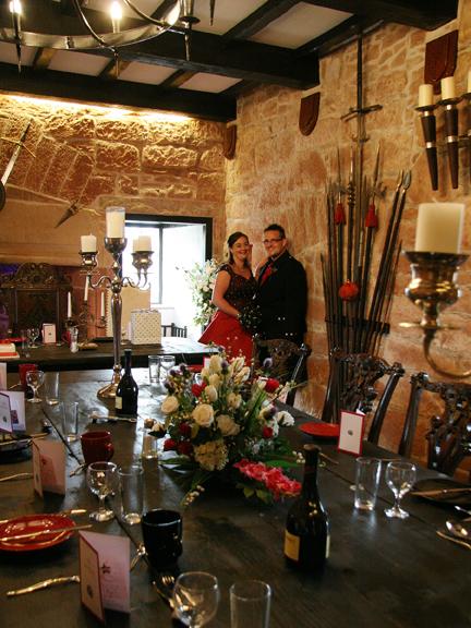 Wedding reception at Brackenhill Tower near Gretna Green