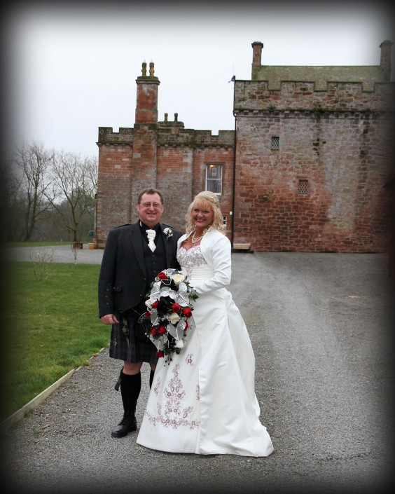 Wedding at Brackenhill near Gretna Green