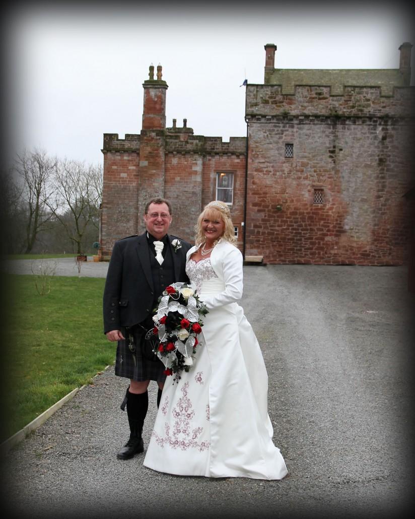 Wedding at Brackenhill near Gretna Green
