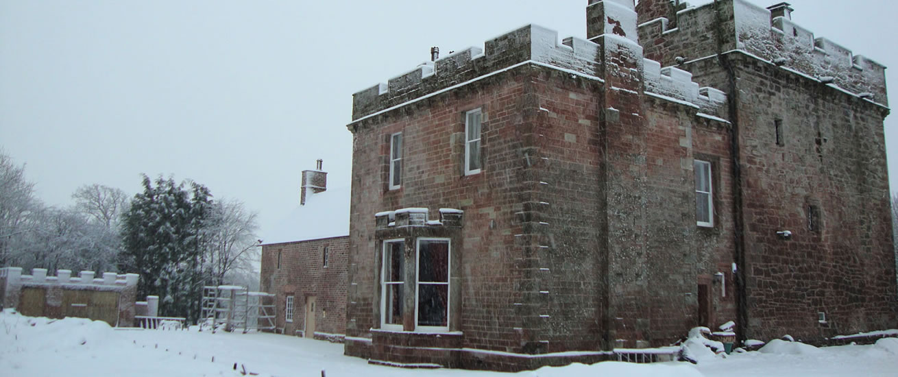 self catering accommodation in the Borders