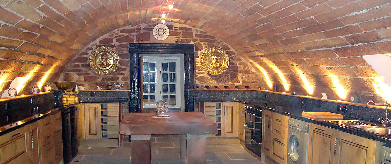 luxury self catering accommodation in the Borders
